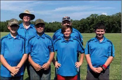 Smith a junior competitor from Purcell came in third place in FITA, second place in Field, third place in 3-D and second place overall. The Intermediate Team won first place. The team includes Logan Simpson of Wayne, Duke Moore of Wayne, and Andrew Tr