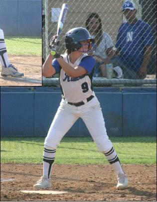 ›Todd Newville/The Newcastle Pacer                                Kennedy Cook (9) is second on the Newcastle Racers with a .441 batting average. Newcastle (11-0) plays at the Bixby Tournament this weekend.