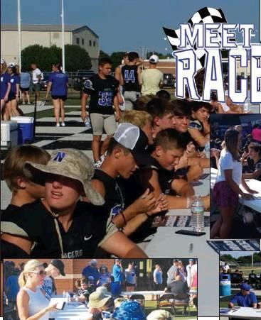 Photos by Todd Newville/The Newcastle Pacer The Newcastle High School fall sports athletes was held last Saturday at the Racer Football Stadium. Free team photos, autographs, and food trucks were onsite. The fall sports include: cheerleading, cross countr