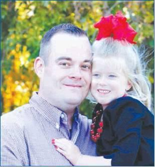 Photo provided Tyler Riddle and daughter.