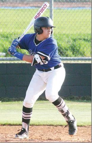 """Todd Newville/The Newcastle Pacer Adan """"Peanut"""" Federico and his hitting have helped Newcastle get off to a 3-0 start in 2019."""