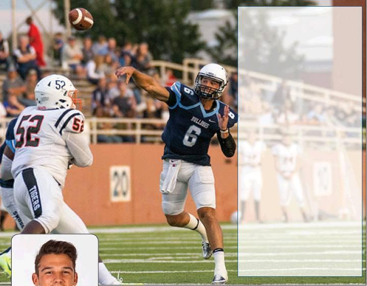 Photo provided/For The Newcastle Pacer                                Former Newcastle Racer quarterback Casey Freeman has started his junior season at Southwestern Oklahoma State University in fantastic fashion. He threw for SEVEN touchdowns and 41