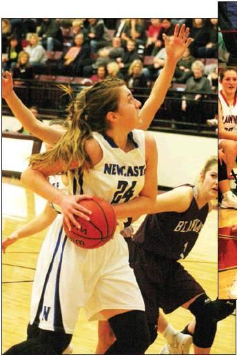 Todd Newville/The Newcastle Pacer Maddy North averaged 20 points per game during his senior season with the Newcastle Racers.