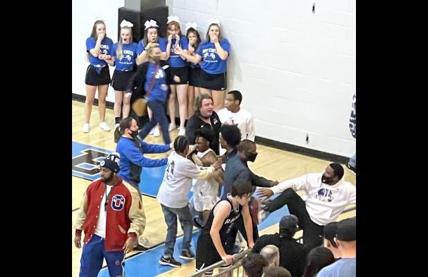 Racer Regional basketball win soiled by post-game brawl