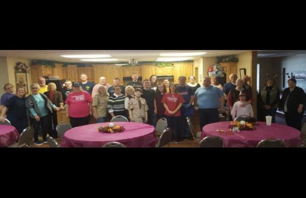 Newcastle United Methodist Church serving annual Free Community Thanksgiving Dinner