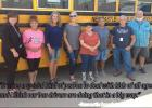 Bus drivers go the full distance for Racer students