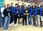 4 Racers wrestle at State